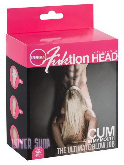 Надувная голова на присоске Fuktion Head