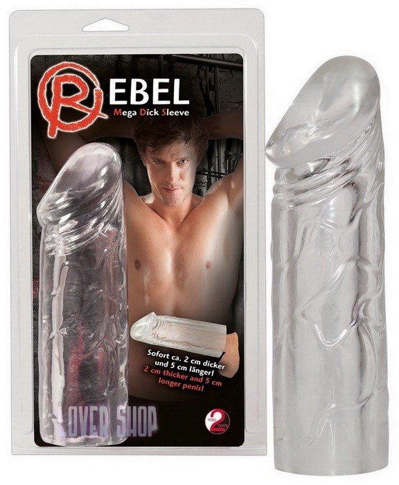 Насадка на пенис Rebel Mega Dick Sleeve