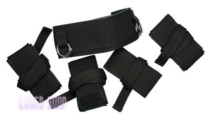 Бондаж для для рук и лодыжек Bad Kitty bondage Kit 530301