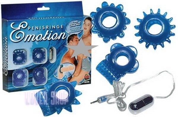Набор эрекционных колец Penisringe Emotion
