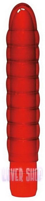 Вибратор Soft Wave красный