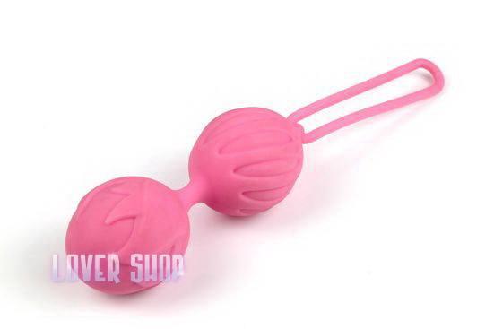 Вагинальные шарики Geisha Lastic Balls S, розовые