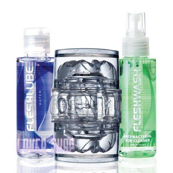 Мастурбатор Fleshlight Quickshot Vantage Value Pack