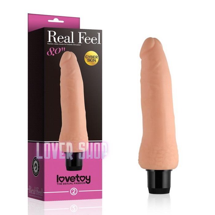 Вибратор Real Feel Cyberskin Vibrator 8 Lovetoy № 2