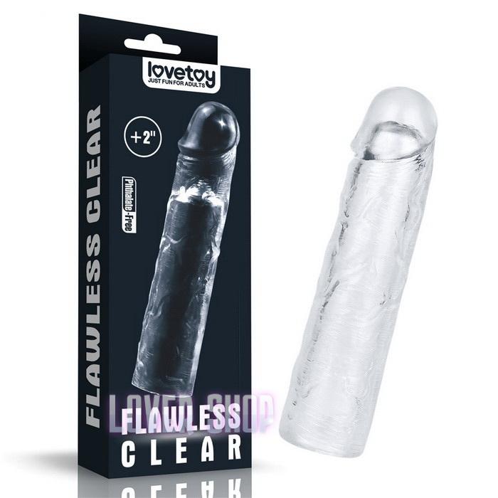 Насадка на член Flawless Clear Penis Sleeve Add 2