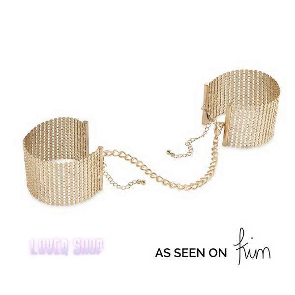 Наручники Bijoux Indiscrets Desir Metallique Handcuffs Gold