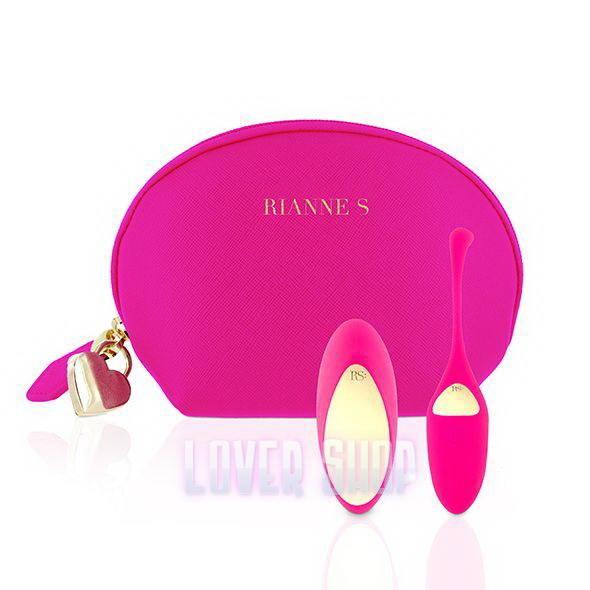 Виброяйцо Rianne S Pulsy Playball Deep Pink