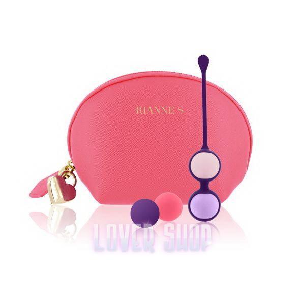 Набор вагинальных шариков Rianne S Pussy Playballs Coral