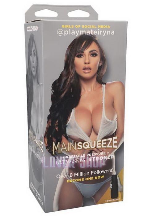 Мастурбатор Doc Johnson Main Squeeze Girls of Social Media @playmateiryna Pussy